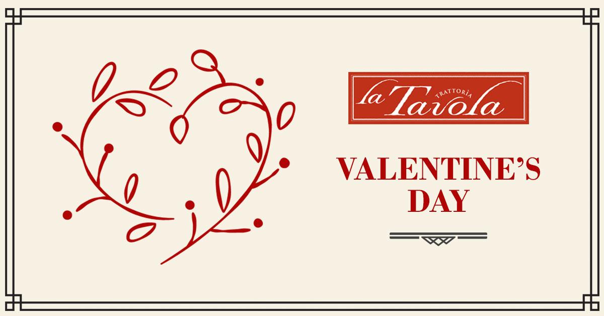 Valentine's Day at La Tavola