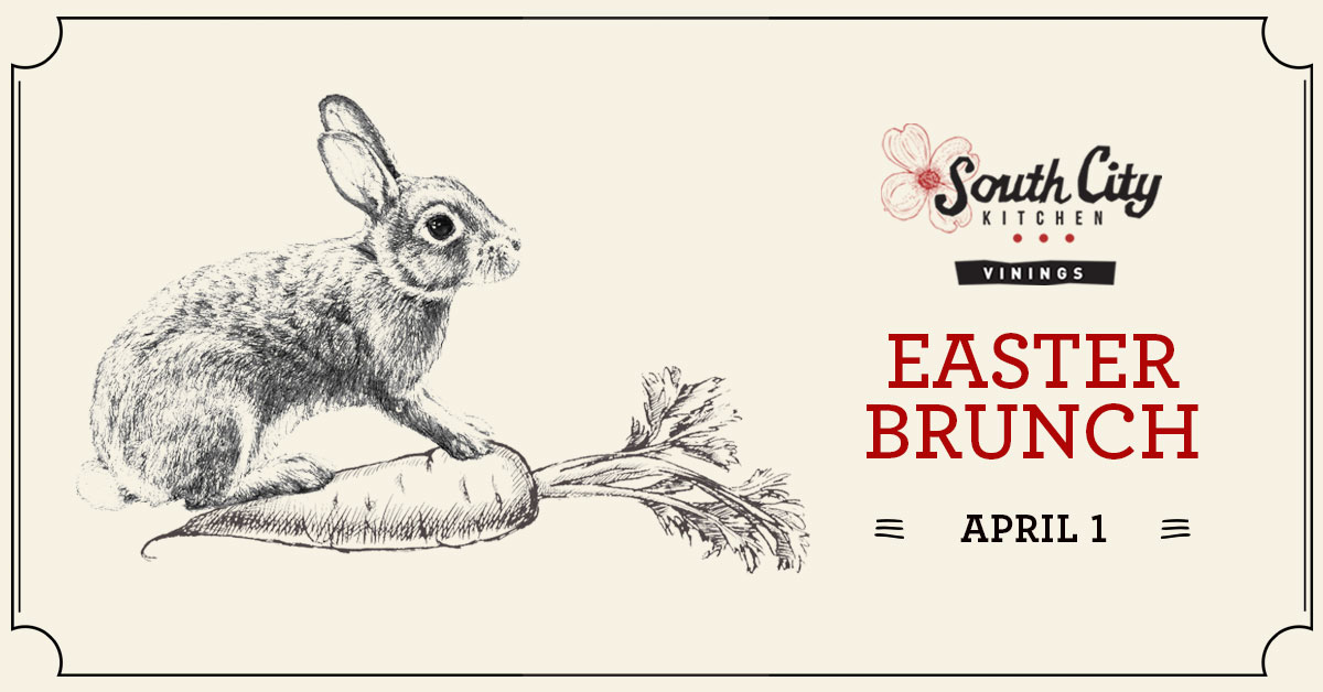 Easter Brunch at South City Kitchen Vinings
