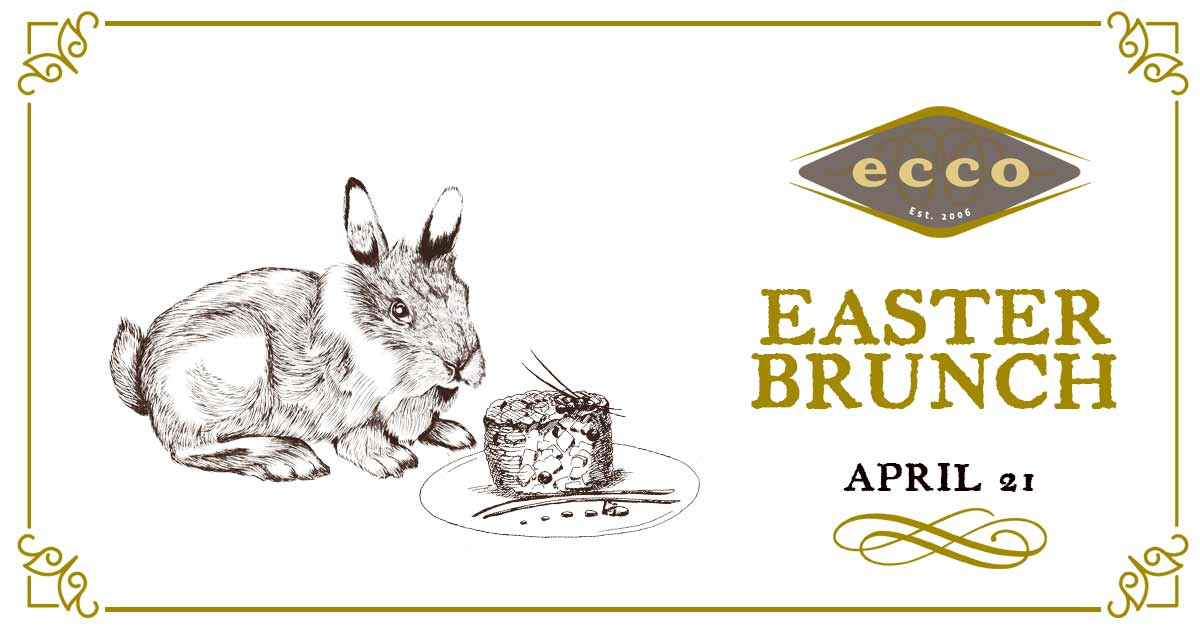 Easter Brunch at Ecco Midtown